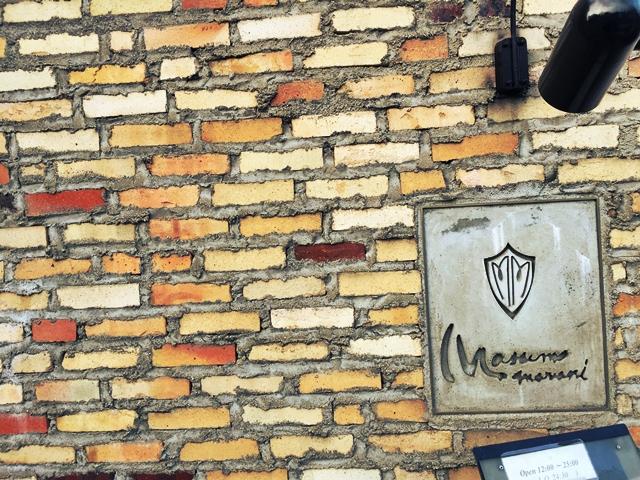 マッシモ・マリアーニさん外壁