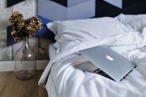 ベッドとPC