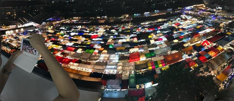 バンコクの夜景