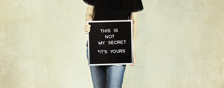 これは私の秘密ではありません。あなたのものです